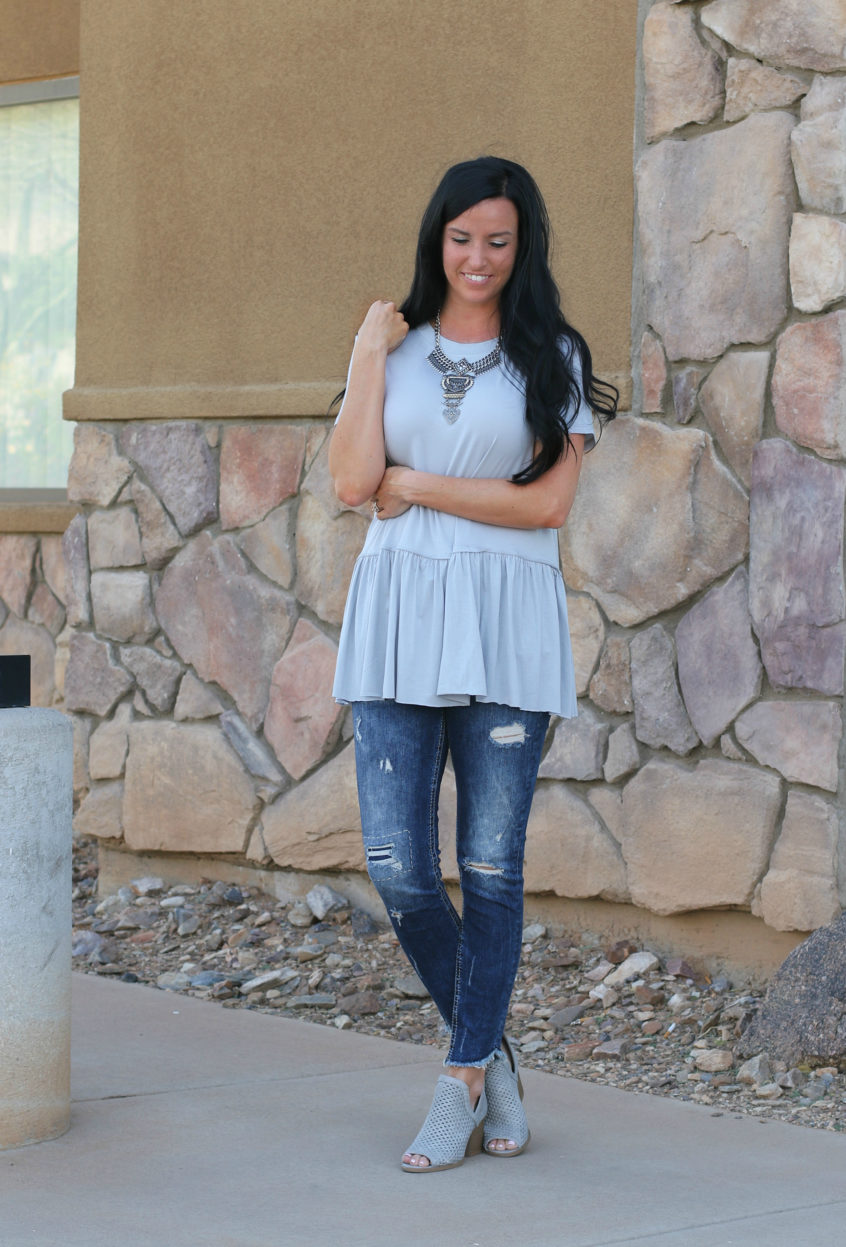Peplum Top | Fashion Junkee | Teacherfashionista | Jules